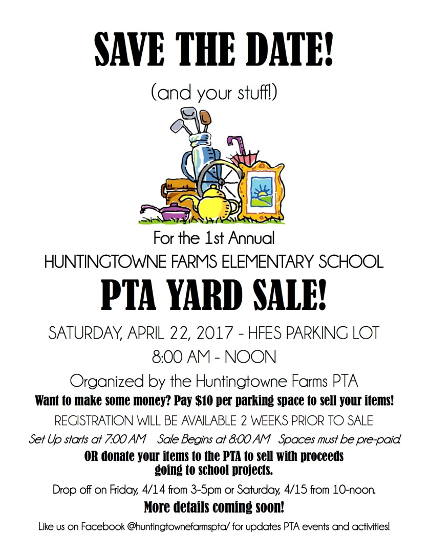 attic sale flier